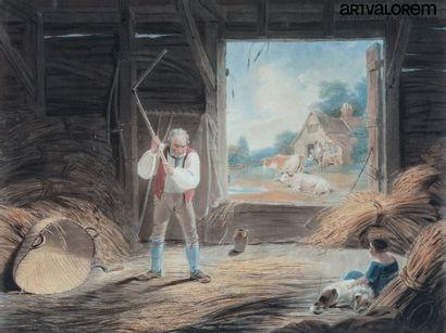 R.WESTALL (1765-1836) gravé part W.S.Reynolds...