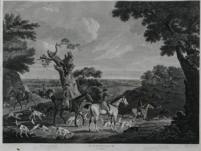 D'après John-N SARTORIUS (1755-1828) gravé...