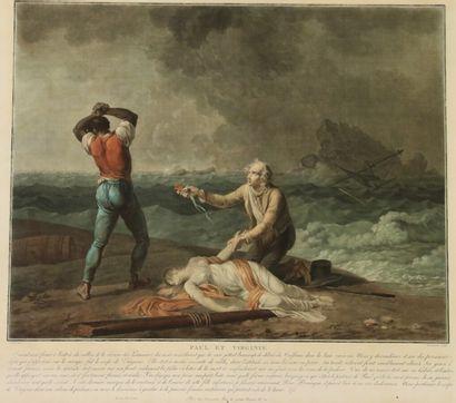 Charles Melchior DESCOURTIS (1753-1820)...