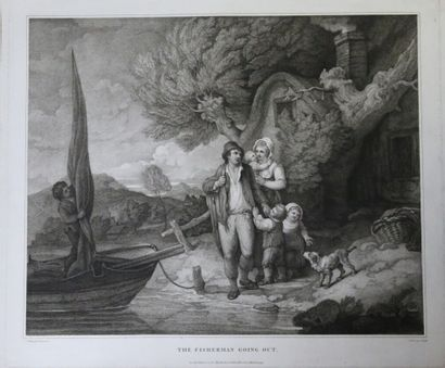 F. WHEATLY (1747-1801)  - The fisherman going...