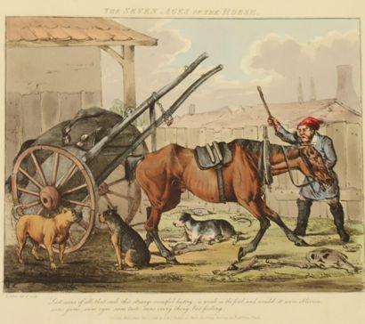 Henry ALKEN I (1785-1851)  The seven ages...