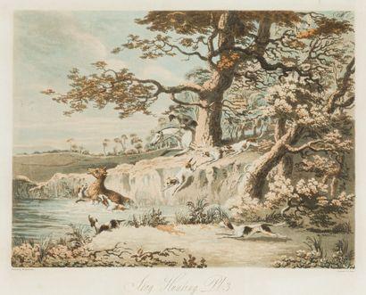 Dean WOLSTENHOLME (1798 - 1882)  3 aquatintes...