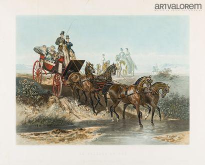 E.GUERARD (1821-1866) gravè par J.Harris...