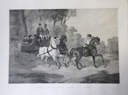 de BONNEMAISON (1809-1865 ) lithographié...