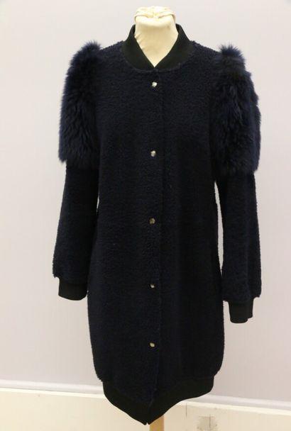 ANNE VEST  Manteau trois-quarts en mouton...