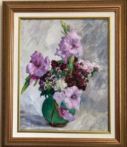 Marie Lucie NESSI-VALTAT (1871-1953)  Bouquet...