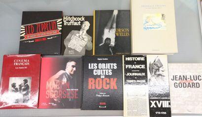 Ensemble de livres sur le Cinema et histoire...
