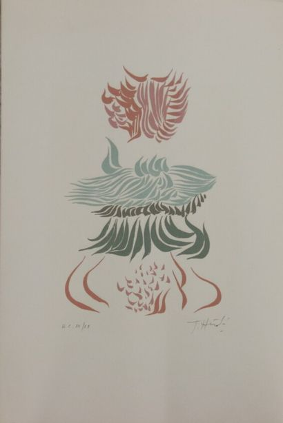 Jacques HEROLD (1910-1987)  Lithographie...