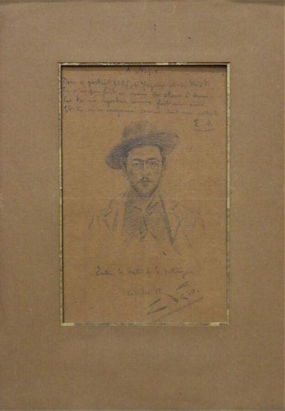 NAPO, XIXe siècle  Portrait d'homme, 12 fev....