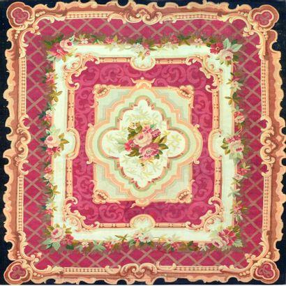 Important tapis d'Aubusson (France) vers...