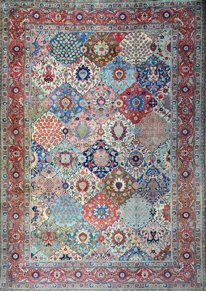 Important et très original Tabriz (Nord-Ouest...