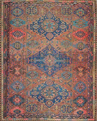 Important Soumak ancien (Caucase) fin XIXème...