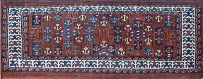 Rare et ancien Torbat Yomoud Boukhara (Turkmen)...