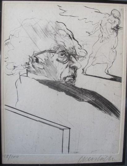 Claude WEISBUCH (1927-2014) (d'après)  Le...
