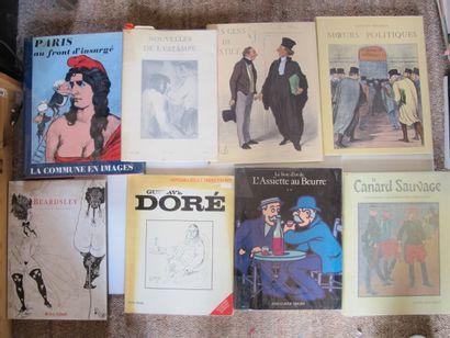 [ILLUSTRATION, GRAVURE]  Lot de 9 ouvrages...