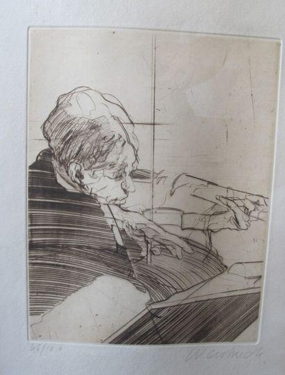 Claude WEISBUCH (1927-2014) (d'après)  Etude...