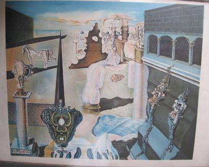 Salvator DALI (1904-1989) (d'après)  L'homme...