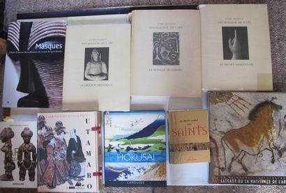 [HISTOIRE DE L'ART]  Ensemble de 9 ouvrages...