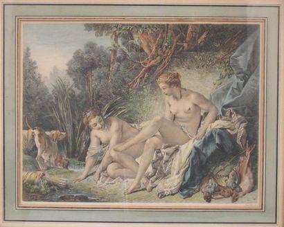 François BOUCHER d'après