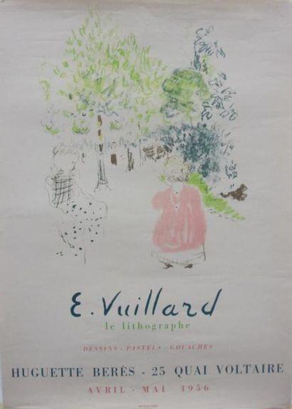 Affiche pour l'exposition E. Vuillard Le...