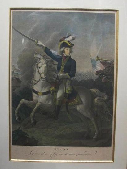 Brune, Général en chef des armées françaises....