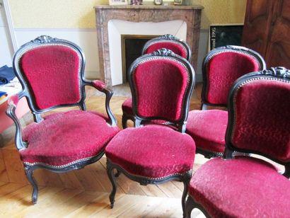 Suite de sièges De style Louis XV