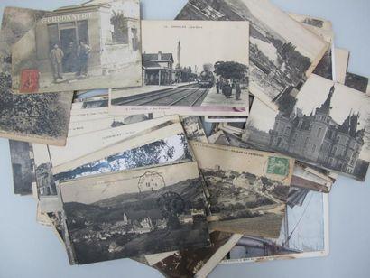 AFFICHES-Lot de 110 cartes postales, thème...
