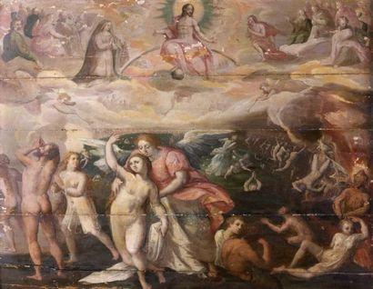 Ecole FLAMANDE vers 1580, entourage de Gerhard van GROENINGEN