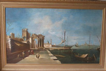 ECOLE ITALIENNE, fin du XIXe siècle