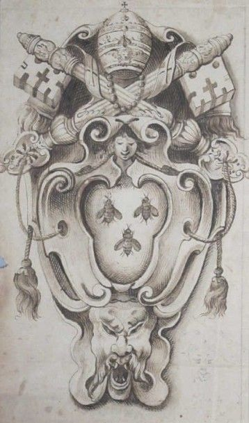 École italienne du XVIIème siècle Entourage du Bernin