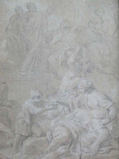 Ecole française. La source (vers 1700)