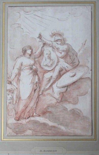 Ecole française du XVIIIème siècle. Atribué à Hubert ROBERT (1733-1808)
