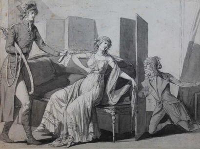 Attribué à Jean-françois BOSIO (1764-1827)