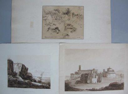 Ecole française du XIXème siècle. DUPONT