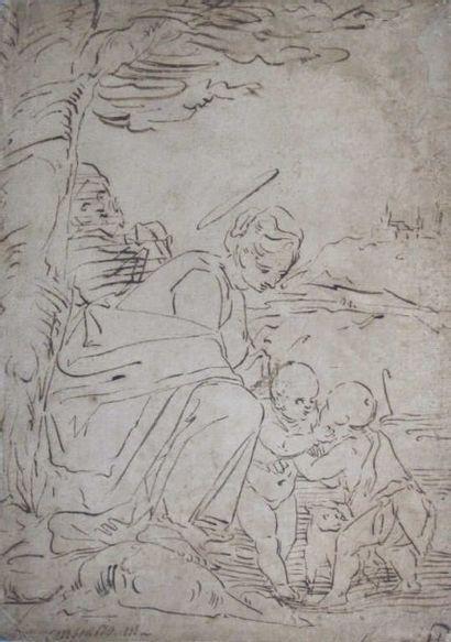 Attribué à CAMBIASO Lucas (1527-1585)