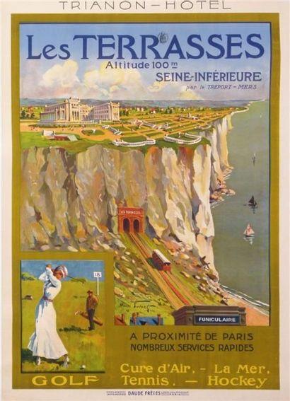 POLARD Henri. LE TREPORT Trianon hotel Les...