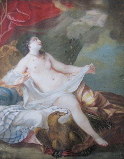 Ecole FRANCAISE du XVIIIème siècle, suiveur de Jean Baptiste Marie PIERRE Danaë