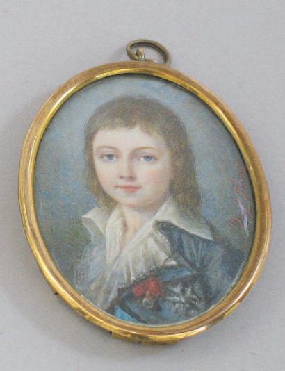 Portrait de Louis XVII, Dauphin de France,...