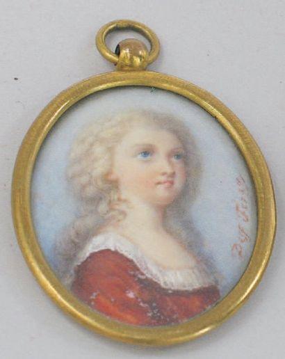 Portrait présumé de Marie-Thérèse Charlotte...