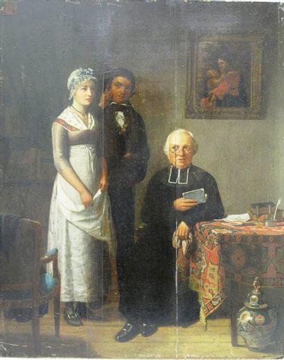 Ecole FRANCAISE vers 1820, entourage de Marguerite GERARD