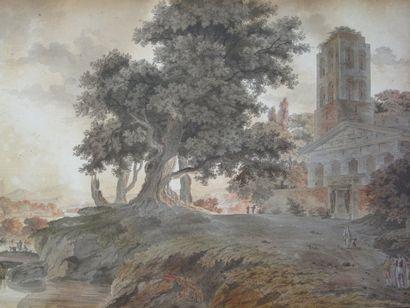 Antoine GENAIN (école française de la fin du XVIII° siècle)