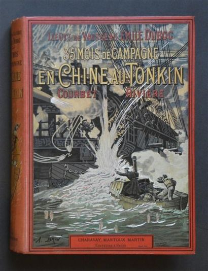 1899 DUBOC (Emile) 35 mois de campagne en...