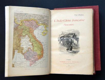 1905 DOUMER, Paul. L'Indo-Chine française....