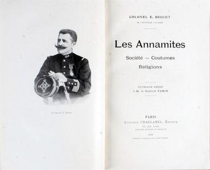 1906 Colonel E. DIGUET LES ANNAMITES SOCIETE...