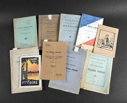 1917 Un ensemble de documents administratifs,...