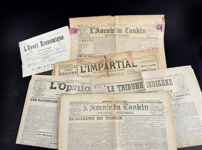 1919-1926. Un ensemble de journaux, hebdomadaires...