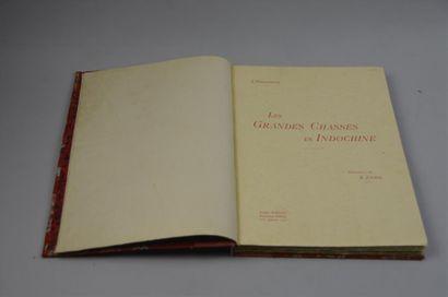 1925 BORDENEUVE (J). LES GRANDES CHASSES...
