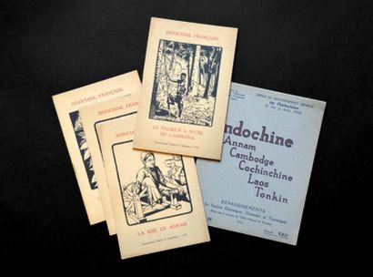 1931 Un ensemble de 5 livrets édités par...