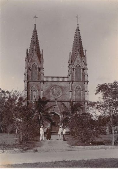 1910 FORT BAYARD (KOUANG-TCHEOU-WAN) 11 VUES...