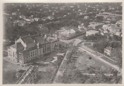 1922 LA PARADE DU MARÉCHAL JOFFRE EN VISITE...